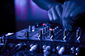 DJ Music night club — Foto Stock