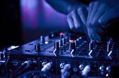 Dj hudba noční klub — Stock fotografie