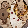 Old pocket watch mechanism — Stock Photo