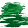 green watercolor brush strokes — Stock Photo #10458300