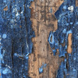 Obsolete weathered cracked painted wood grunge background — Foto Stock