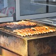 Sausages on grill — Stock Photo #8505911