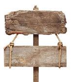 Placa de madeira velha — Fotografia Stock