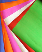 Colorful paper background set — Stock Photo