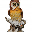 Stock Photo: Plaster statuette of owl