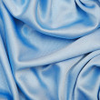 Smooth elegant blue silk background, can use as background — Stock Photo
