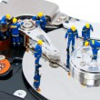 Hard disk repair concept — Stock Photo #8878850