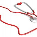 Cat-shaped stethoscope — Stock Photo #9458419