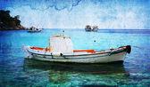 Vintage marinmålning — Stockfoto