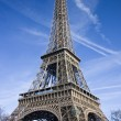 Eiffel tower symbol of Paris — Stock fotografie #9537684