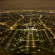 Paris at night — Foto Stock
