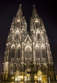 The Dom at night — Stock Photo