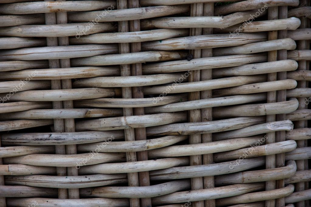 Old rattan texture  — Stock Photo #10547456