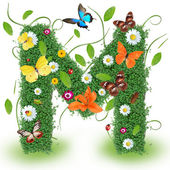 Beautiful spring letter — Stock Photo