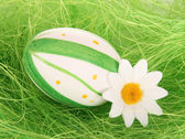 Traditional painted Easter eggs — Stock Photo
