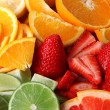 Fruits background — Stock Photo #9804320