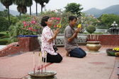 Buddhist Pray — Стоковое фото