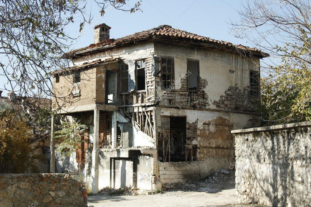 被遗弃的旧房子 图库照片 169 Jjspring#10156344
