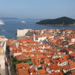 Beautiful view of Dubrovnik — Stock Photo