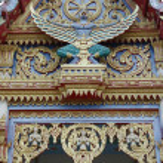 Garuda king at the temple, Thailand — Stock Photo #10246989