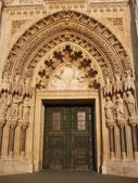 Portal - katedralen i zagreb — Stockfoto