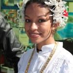 Panamanian girl — Stock Photo