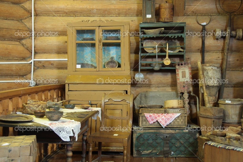 Old wooden house interior stock editorial photo 10551727 Old home interior pictures value