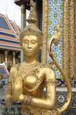 Wat Phra Kaeo golden creature — Stock Photo