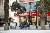 Vodafone store in Turkey — Stock Photo