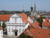 View of Zagreb — Stock Photo