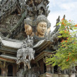 Stock Photo: Temple - Sanctuary of Truth - Pattayin Thailand