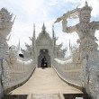 The White Temple in Thailand — Stock Photo