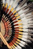 Native South American costume — Stock Photo