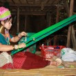 Stock Photo: Tribal Karen womin Thailand