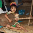 Tribal Karen child in Thailand — Stock Photo