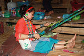 Tribal donna karen in thailandia — Foto Stock