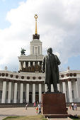 Monument of Lenin on VDNH, Moscow — Stock Photo