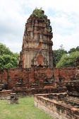 Ruins of Ancient Ayutthaya — Stock Photo