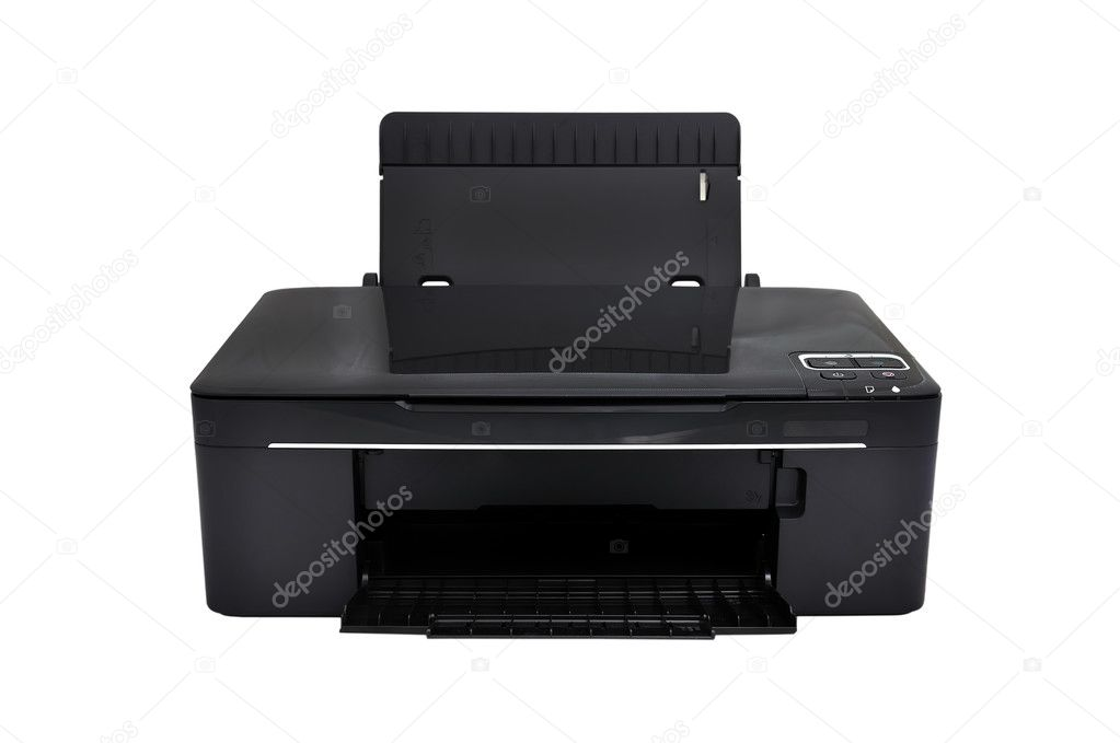 All-in-one printer on a white background — Stock Photo #9347317