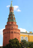 The red brick tower of the Kremlin — Stock Photo
