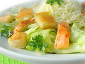 Caesar salad (close up) — Stock Photo