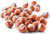 Nuts filberts isolated — Stock Photo
