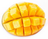Slice of mango — Stock Photo