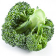 Broccoli on a white - Stock Photo