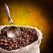Roasted coffee beans - Stok fotoğraf