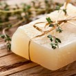 Piece of natural soap. — Stok fotoğraf