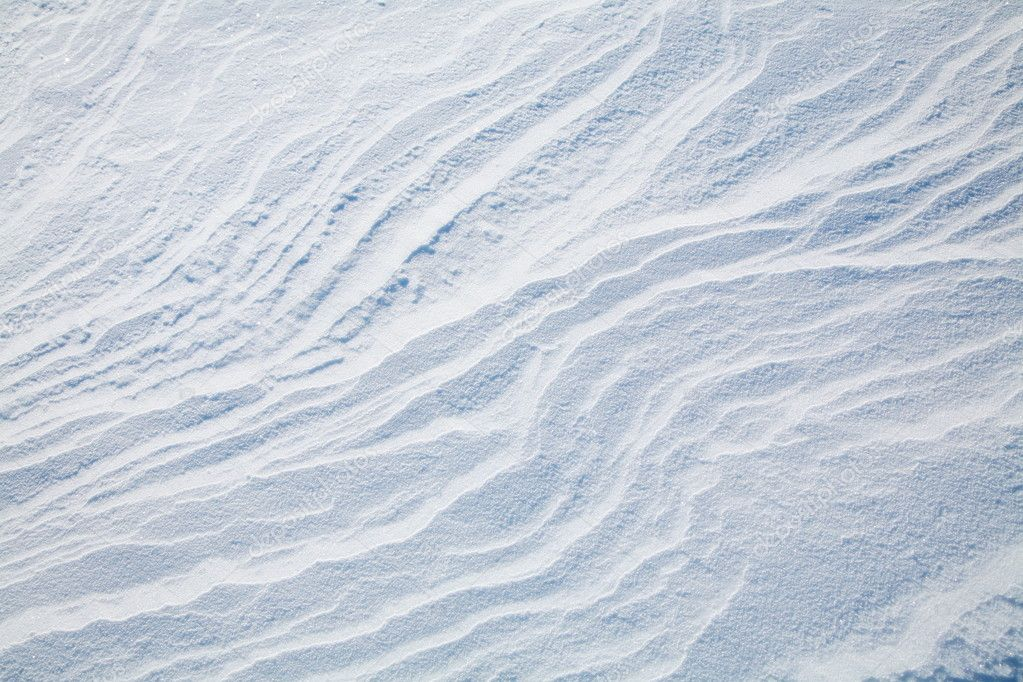 Texture of snow drifts close up.  Stock Photo #8167503
