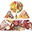 Products for a balanced diet — Stock Photo