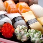 Sushi rolls — Stock Photo #8841138