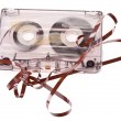 Royalty-Free Stock Photo: Old broken cassette.